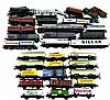 HO Railroad: Fleischmann Train Cars, 30+ Pieces