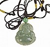 Jadeite Pendants: Laughing Buddha, Fruit, Rabbit