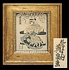 Antique Keisai Eisen Japanese Woodblock Print