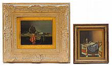 Imre Giszinger (1895-1935) Still Life Pair