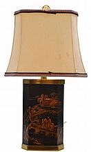 Asian Lamp With Paul Hanson Shade