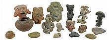 17 Pc. Native American Pottery Lot