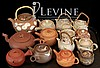 (14) Pcs. Asian Banko Ceramic Pottery Teapot Lot