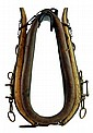 Antique Horse Collar, Brown Leather.