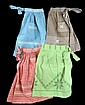 Lot of Four 1950's Era Kitchen Aprons.