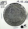 Circulated 1883 - CC Morgan Silver Dollar