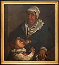 Northern Italian School Old Master Oil Painting