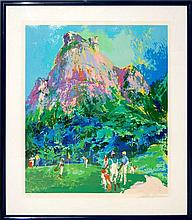 Leroy Neiman (1921-2012) International Foursome Serigraph