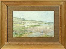 Childe F. Hassam (1859-1935) Watercolor Painting