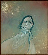 Earl Biss Jr. (1947-1998) Oil Painting of Native American Man