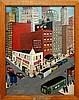 Peter Turgeon (1919-1999) Empire Theatre Painting