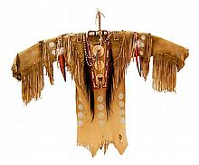 Arapaho Brass Eagle War Shirt