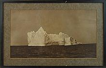 Robert E Holloway (1850-1904) Iceberg Photograph
