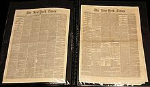 Civil War Era Newspapers & Harper's Weekly