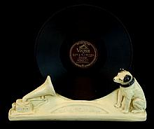 RCA Victor Nipper The Dog Record Display Holder