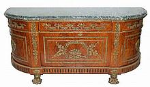 20th Century Marble Top 2nd Empire Style Buffet