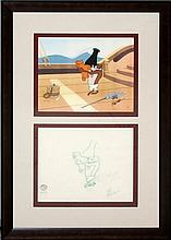 Friz Freleng Looney Tunes Taz Ltd. Ed. Drawing