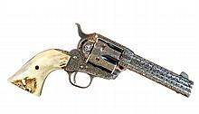 Colt 45 Cal. Single Action Army Engraved Revolver