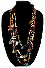 Vintage Pueblo Indian Memory Type Necklace