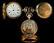 14K GP American Waltham Pocket Watch