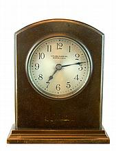 Antique Chelsea Clock Co. Bronze Desk Clock