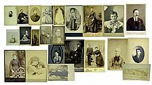 CDV & Cabinet Card Photographs
