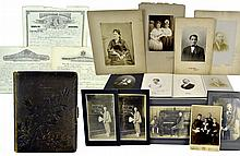 Antique Photographs, Victorian Album, Cards