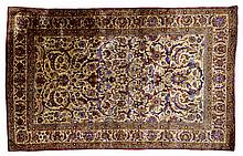 Turkish Hereke, Silk Rug