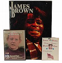 James Brown Japan Tour Program, Pass and Interview