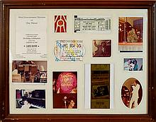 James Brown Tour Framed Photo/Ticket Collage
