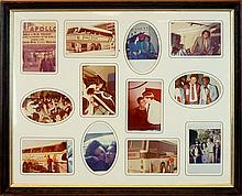 James Brown Tour Framed Photo Collage