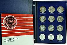 Franklin Mint Presidential Sterling Silver Medals