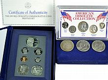 U.S. Coin Lot: Morgan Dollar, 1993 Prestige Set