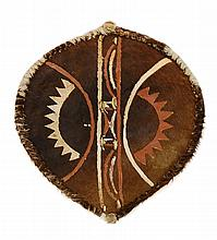 African Animal Hide Shield