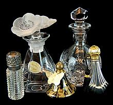 5 Pcs. Old To New Perfume Bottle Lot