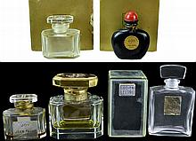 Jean Patou & Lucien Lelong Perfume Bottle Lot