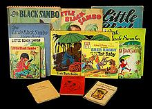 Little Black Sambo Book Lot