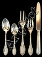 Buccellati Empire Sterling 5 Pc. Flatware Set