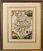 Huntingdon Shire Framed Print