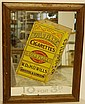 Antique Mirror Advertising Sign