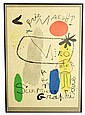 Miro Poster, Exhibition Sculpture-Art Graphique