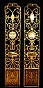 Wrought Iron, Mirrored Wall Decorations / Panels