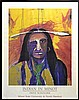 Indian In Minot, Signed Poster, Fritz Scholder