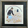 Signed Harrison Begay (1914-2012) Acrylic Painting