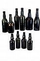 Lot of 10 Assorted Vintage Bottles