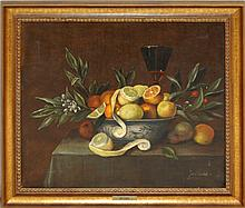 Jan Tuche Still Life Oil Painting