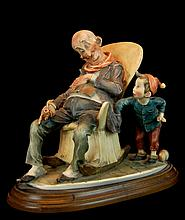 G. Armani Capodimonte Little Pickpocket Figurine