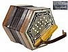 Vintage Renelli 31 Button Concertina Accordion