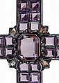 An Important Royal Amethyst & Diamond Cross