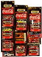 Coca Cola Matchbox Cars. Circa 1998